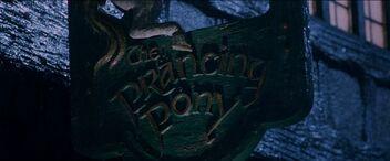 Pancarte Le Poney Fringant