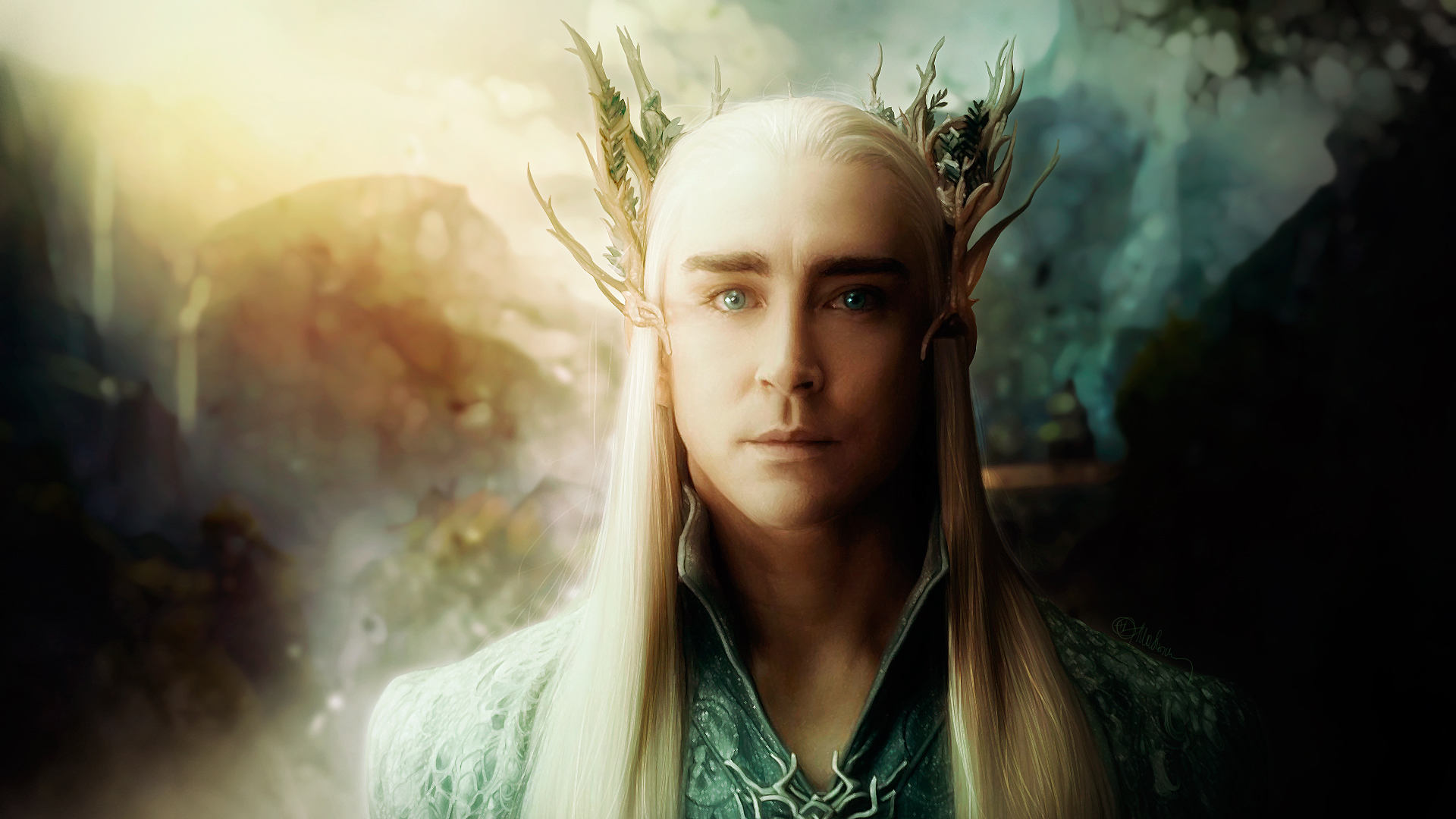 Thranduil lee pace the hobbit by push pulse-HD