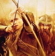 Legolas et gimlifff