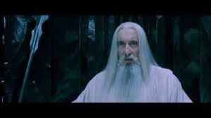 Saroumane vs Gandalf