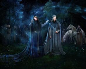 Melian et Thingol