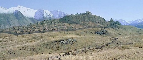Image - Rohan edoras.jpg | Wiki J. R. R. Tolkien | FANDOM ...