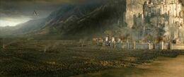 Bataille champ de Pélénor