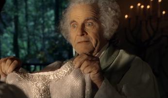 Bilbon et cotte de maille mithril