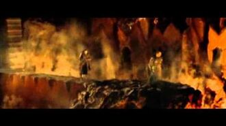 Isildur falls for the Power of the One Ring- Fellowship of the Ring (2001) Clip