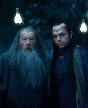 Elrond et gandalf