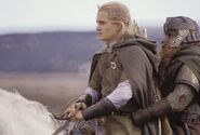 Gimli et Legolas