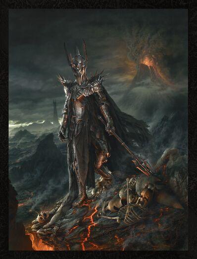 Sauron Mount Doom