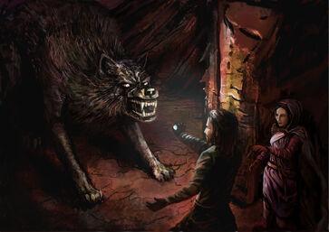 Carcharoth et Beren