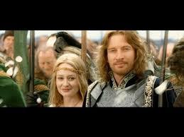 Faramir et eowyn
