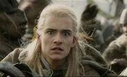 Legolas qui fait une tête bizart