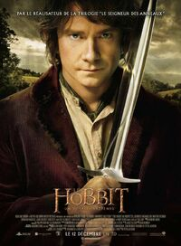 Affiche le hobbit un voyage inattendu