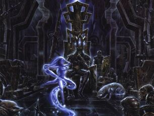 Luthien et Morgoth