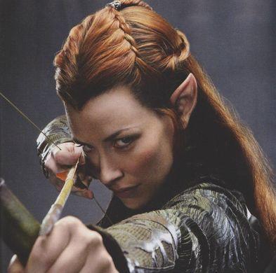 Tauriel( inventé pour le hobbit)