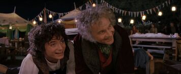 Bilbon et frodon
