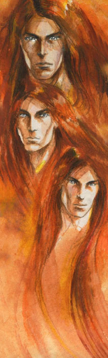 Maedhros, Amrod et Amras