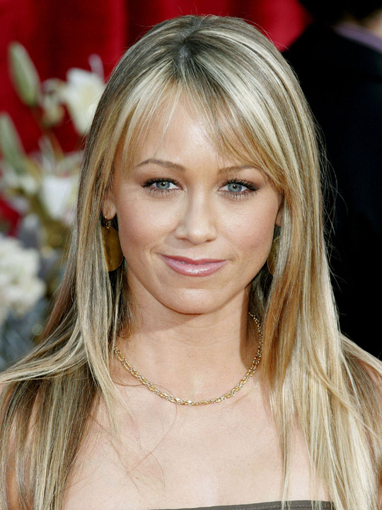 christine taylor hot blonde