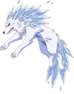 Fenrir (full body) anime ver