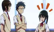 Mutsumi classmate chat