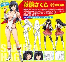 Character sakura