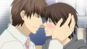 Chiaki and Hatori make up ep06