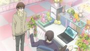 Takano rejecting Ritsu's project proposal ep07