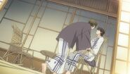 Yuu moves on Chiaki ep10