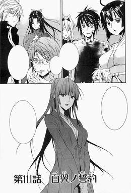 Sekirei manga chapter 111