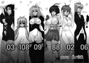 Sekirei manga chapter 067