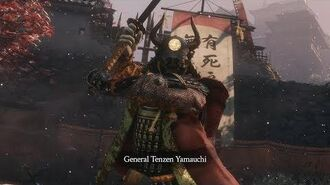 Sekiro™ Shadows Die Twice General Tenzen Yamauchi