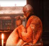 Монах храма Сэмпо