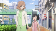 Rio Koshiba and Mama