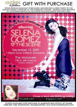 Selenagomez&thescene-liveinconcert