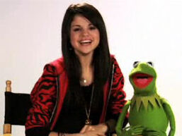 Selena & Kermit the Frog