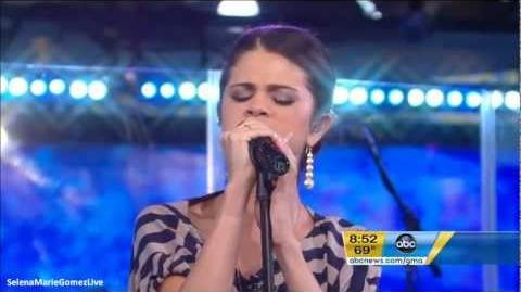 Selena Gomez - Round & Round, Live on Good Morning America