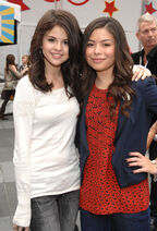 Selena Gomez and Miranda Cosgrove