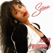 Selena-Amor Prohibido (CD Single)-Frontal
