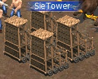 Siege towers