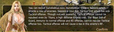 Cunobelinus tactical unit Sapper
