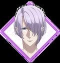 Retrato de anime de Akechi Mitsuhide