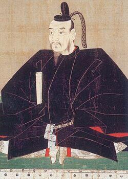 Motochika Chosokabe painting