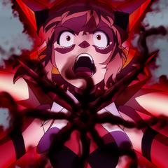 Hibiki feels the pain of Ignite Module.