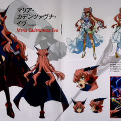 Maria's Character Design in G