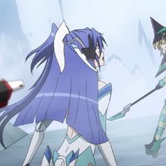 Tsubasa getting shot by Chris