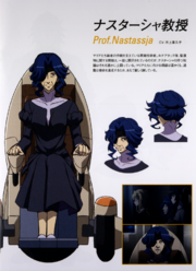 Prof. Nastassja's Character Design in G