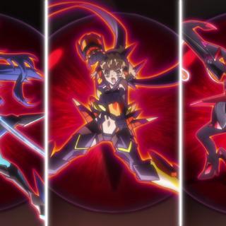 Tsubasa, Hibiki and Chris in Phase Nigredo