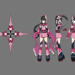 Shirabe's Traditional Gear Concept Art