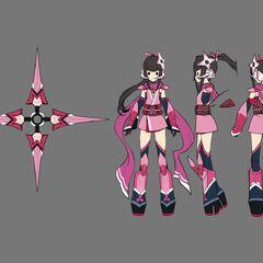 Shirabe's Japanese Gear Concept Art