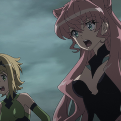 Kirika and Maria in defenseless state