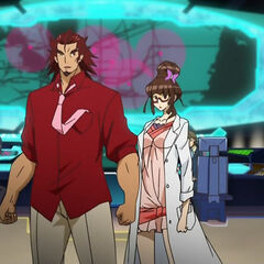 Genjuurou with Ryouko